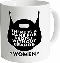 Name For People Without Beards Tasse