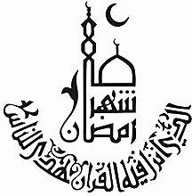 Namefeng Tapete Arabisch Dekorative Wandaufkleber