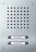 Namensschildtasche–Bahnhof Tür eds 2Ruftasten im Haus von Bus CL A 02B-01* *