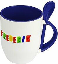 Namenstasse Frederik - Löffel-Tasse mit