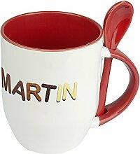 Namenstasse Martin - Löffel-Tasse mit