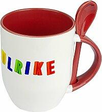 Namenstasse Ulrike - Löffel-Tasse mit
