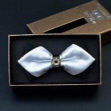 Namgiy Krawatte Fliegen Krawattenbügel Herren