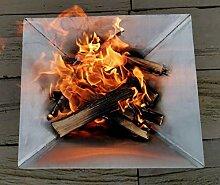 NAMOR© Edelstahl Feuerschale Feuerstelle