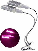 NANANA Pflanzenlampe LED für Zimmerpflanzen, 15w