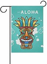 Nananma Dekorative Aloha-Maske für den Garten,