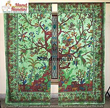nandnandini Textile–Weihnachten Mandala