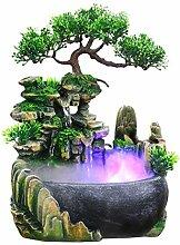 Nannday Desktop Brunnen, Tischbrunnen Wasserfälle