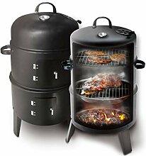 NANXCYR Premium BBQ Grill Black Barbecue Runder