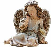 Napco 18415Park Place sitzender Engel Figur