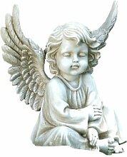 Napco sitzender Engel Statue, 9–3/4-Zoll lang