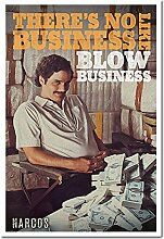 Narcos Blow Business Poster Kork Pinnwand