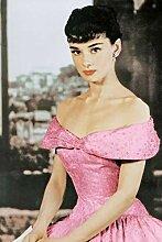 Narunares 5D DIY Diamantmalerei Audrey Hepburn