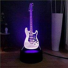 Naruto 3D Nachtlicht LED Schlafzimmer Dekoration