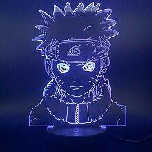 Naruto 3D Nachtlichter, LED Stimmungslampe für