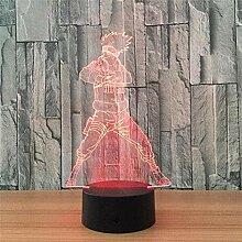 Naruto Hatake Kakashi 3D LED Nachtlicht7