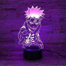 Naruto Nachtlicht Jungs Nachtlicht Jungen 7 Farben