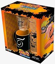 Naruto Shippuden - Schnapsglas Geschenkset (inkl.