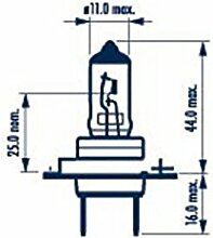 NARVA 48329 Scheinwerferlampe H7 LL 12V 55W PX26d