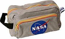 NASA Logo Kulturbeutel - NASA Kulturtasche Waschtasche Raumfahrt Waschbeutel