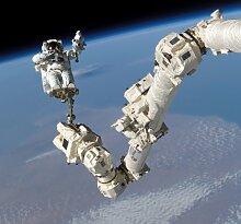 NASApete Mann im Weltraum, Astronaut, Fototapete,
