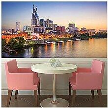 Nashville Sunset Fototapete Stadt Skyline