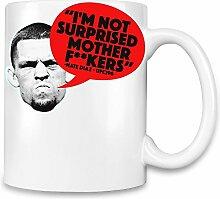 Nate Diaz Kaffee Becher