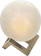 National Geographic Nachttischlampe Mond Lampe mit