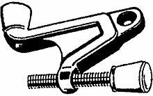 National Hardware v1934Scharnier Pin Türstopper in massiv Messing