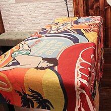 National Tisch Tuch Baumwolle Bettwäsche–memorecool Haustierhaus Crane Langlebigkeit Emblem Umweltfreundlich Geburtstag Geschenke 83,8x 83,8cm, baumwolle, pattern3, 55x55inch