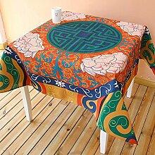 National Tisch Tuch Baumwolle Bettwäsche–memorecool Haustierhaus Retro Warmer Klang Gorgeous Home Decor Quadratisch 83,8x 83,8cm, baumwolle, pattern1, 55x55inch