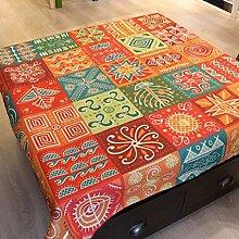 National Tisch Tuch Baumwolle Bettwäsche–memorecool Haustierhaus Retro Warmer Klang Gorgeous Home Decor Quadratisch 83,8x 83,8cm, baumwolle, pattern5, 55x55inch