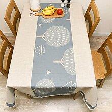 National Tisch Tuch Baumwolle Leinen–memorecool Haustierhaus Gesundes Gefühl Bunte Geometrie Malerei spezielle Design 99,1x 139,7cm, baumwolle, pattern7, 55x91inch