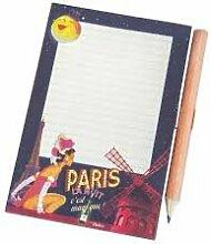 Natives Memoboard magnetisch Paris der Nach