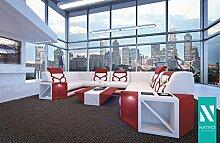 NATIVO© STOFFSOFA AVENTADOR CORNER XL MIT LED BELEUCHTUNG Sofa L-Form mit XL Wohnlandschaft SofaCouch