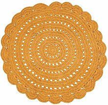 Nattiot Teppich Alma Mango Durchmesser 120 cm
