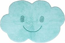 Nattiot Teppich Baby Nimbus Blau