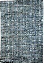 Nattiot Teppich Harris grau/blau 190 x 290 cm