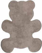 Nattiot Teppich Little Teddy Taupe