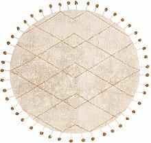Nattiot Teppich Tanvi Mango Durchmesser 135 cm