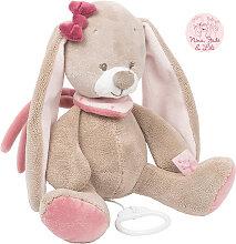 Nattou Nina, Jade & Lili Große Spieluhr Kaninchen