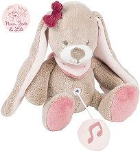 Nattou Nina, Jade & Lili Mini Spieluhr Kaninchen