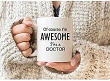 Natürlich bin ich fantastisch, ich bin ein Doktor