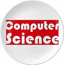 Natürlich und Major Computer Science rot
