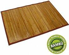 Natürliche Bambusteppich(60x90)