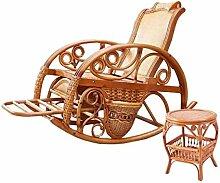 Natürlichen bambus - rattan wicker schwingstuhl set / schaukelstühle suite / schwingsessel satz / gartenliege / gartensessel / sonnenliege / liegestuhl / strandstuhl / relaxliege / lounge sessel / longue / relaxstuhl / relaxsessel / sitz / sitzer / sessel / couchtisch / teetisch / couchtisch / beistelltisch / ende tabelle