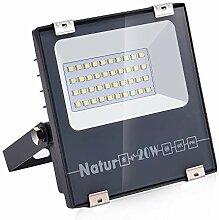 Natur 20W LED Strahler, 2000LM Superhell