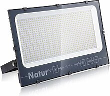 Natur 600W LED Strahler, Superhell Fluter,IP66