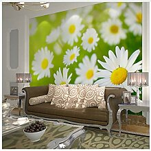 Natur Chrysantheme Blume 3D Wandbilder Tapete Für