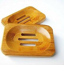 Natur Holz Bambus Badezimmer Dusche Seifenschale